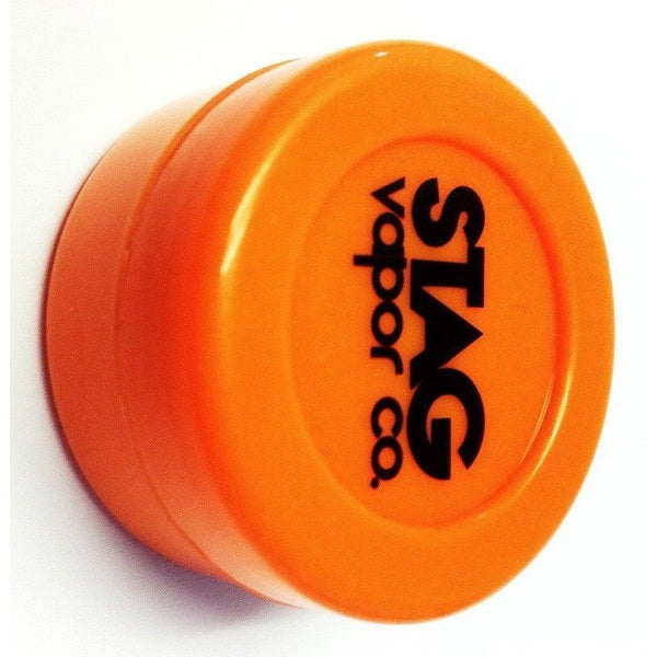 STAG Vapor Co. Silicone Dab Jar Container - Orange - Storage Container - Rogue Hydro - 1