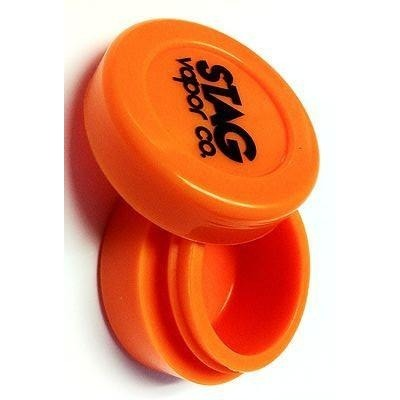 STAG Vapor Co. Silicone Dab Jar Container - Orange - Storage Container - Rogue Hydro - 2