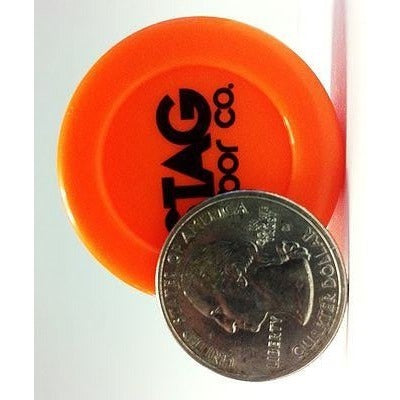STAG Vapor Co. Silicone Dab Jar Container - Orange - Storage Container - Rogue Hydro - 3