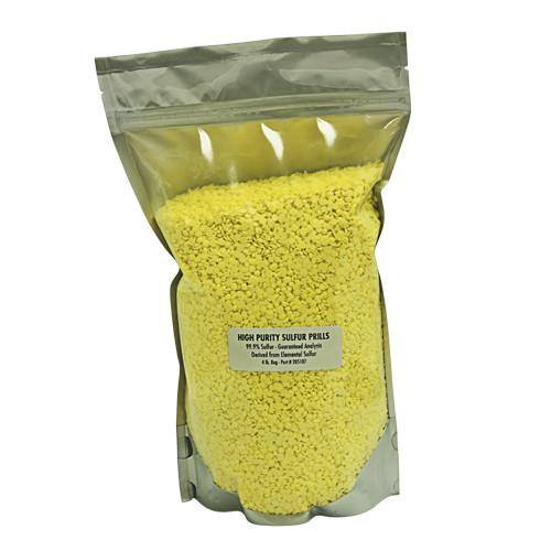 Yellowstone Sulfur Prills, 2 pounds - Sulfur - Rogue Hydro