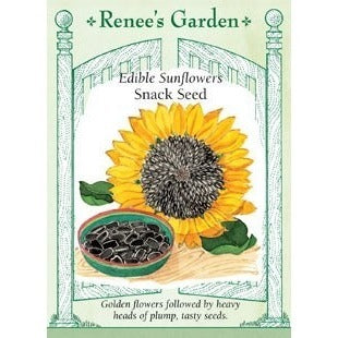Renee's Garden Edible Sunflowers Snack Seed - Sunflowers - Rogue Hydro - 1