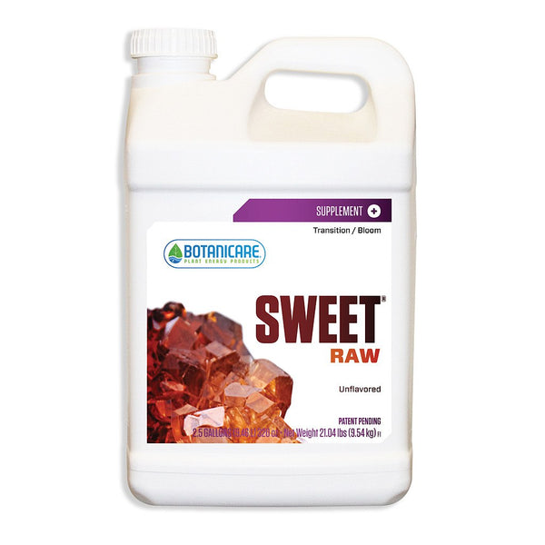 Botanicare Sweet Raw, 2.5 Gallons - Sweetener - Rogue Hydro