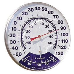 "Humidity Thermometer, 12"" - Thermometer - Rogue Hydro"