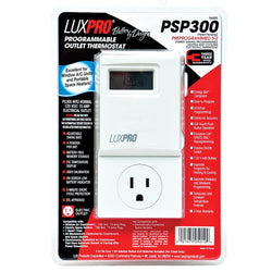 LuxPro Programmable Outlet Thermostat - Thermostat - Rogue Hydro - 1