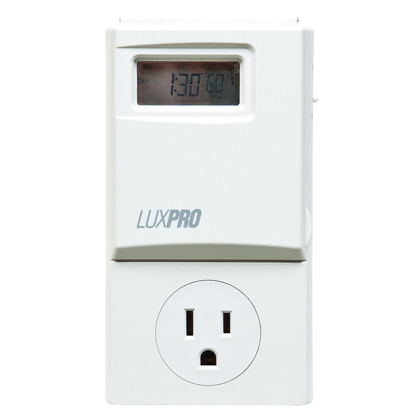 LuxPro Programmable Outlet Thermostat - Thermostat - Rogue Hydro - 2