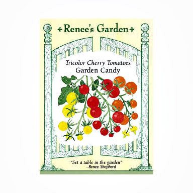 Renee's Garden Tomatoes - Cherry Garden Candy - Tomatoes - Rogue Hydro - 1
