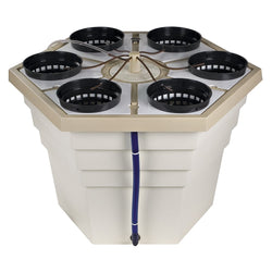 General Hydroponics EcoGrower, 6 Site - Top Drip Hydroponic System - Rogue Hydro