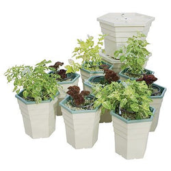 General Hydroponics PowerGrower 8 Pack Kit - Top Drip Hydroponic System - Rogue Hydro - 1