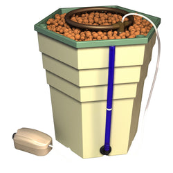 General Hydroponics PowerGrower, Single Unit - Top Drip Hydroponic System - Rogue Hydro - 1
