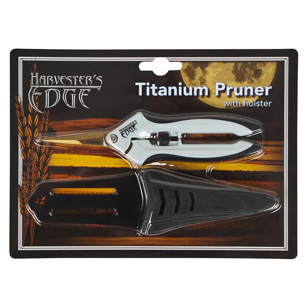 Harvester's Edge Titanium Pruner w/ Holster - Trimming Scissors - Rogue Hydro - 3