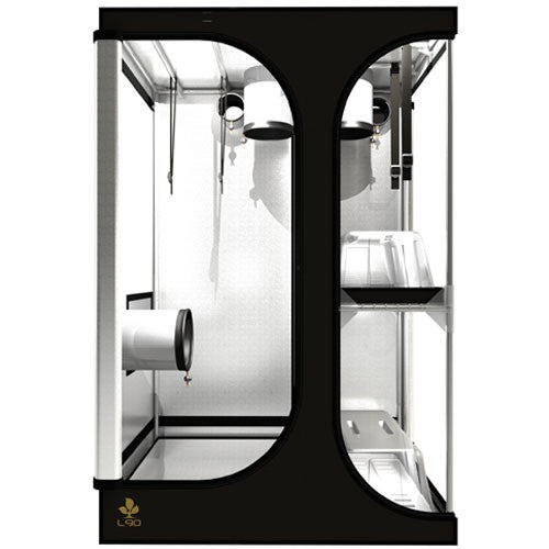 Secret Jardin Lodge 90 v2.6 L90 2x3x4.4 2 Station Grow Tent - Two-Station Grow Tent - Rogue Hydro - 3
