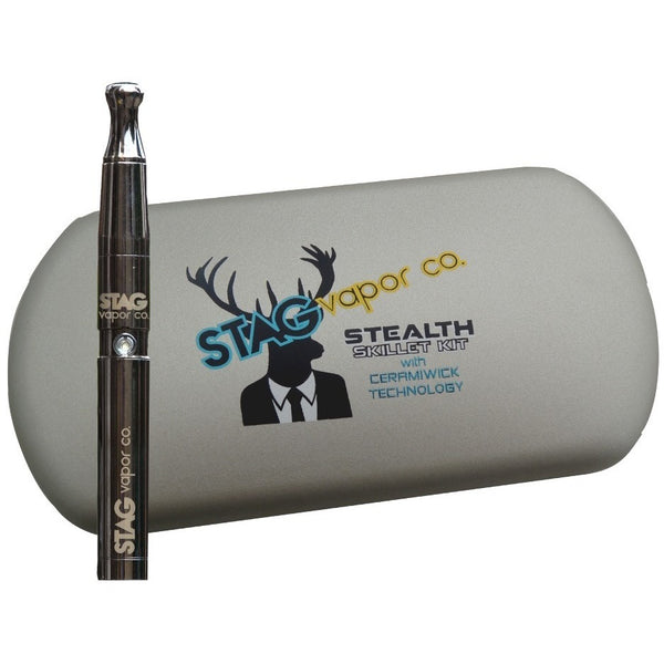 STAG Vapor Co. Stealth Skillet Kit w/ Ceramiwick Technology - Vaporizer - Rogue Hydro