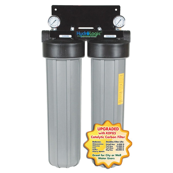 "Hydro-Logic Big Boy De-Chlorinator with KDF Carbon Filter, 31""x12""x11"" - Water Filter - Rogue Hydro"
