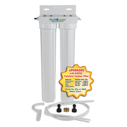 Hydro-Logic Tall Boy w/ KDF85 Catalytic Carbon Filter - Water Filter - Rogue Hydro