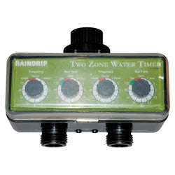 Raindrip Dual Station Water Timer - Water Timer - Rogue Hydro