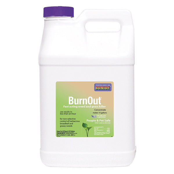 Bonide BurnOut Weed & Grass Killer Concentrate, 2.5 Gallons - Weed Killer - Rogue Hydro