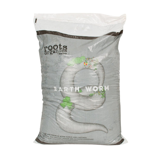 Roots Organics Earth Worm, 1 cubic foot - Worm Castings - Rogue Hydro