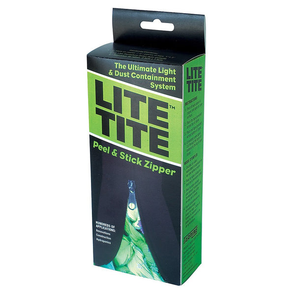 Lite Tite Tarp Zip Up Grow Tent Zipper - Zipper - Rogue Hydro - 2