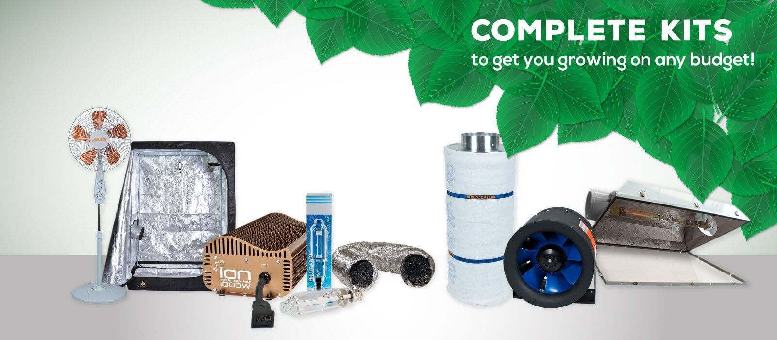 Complete Grow Kits for your Indoor Garden