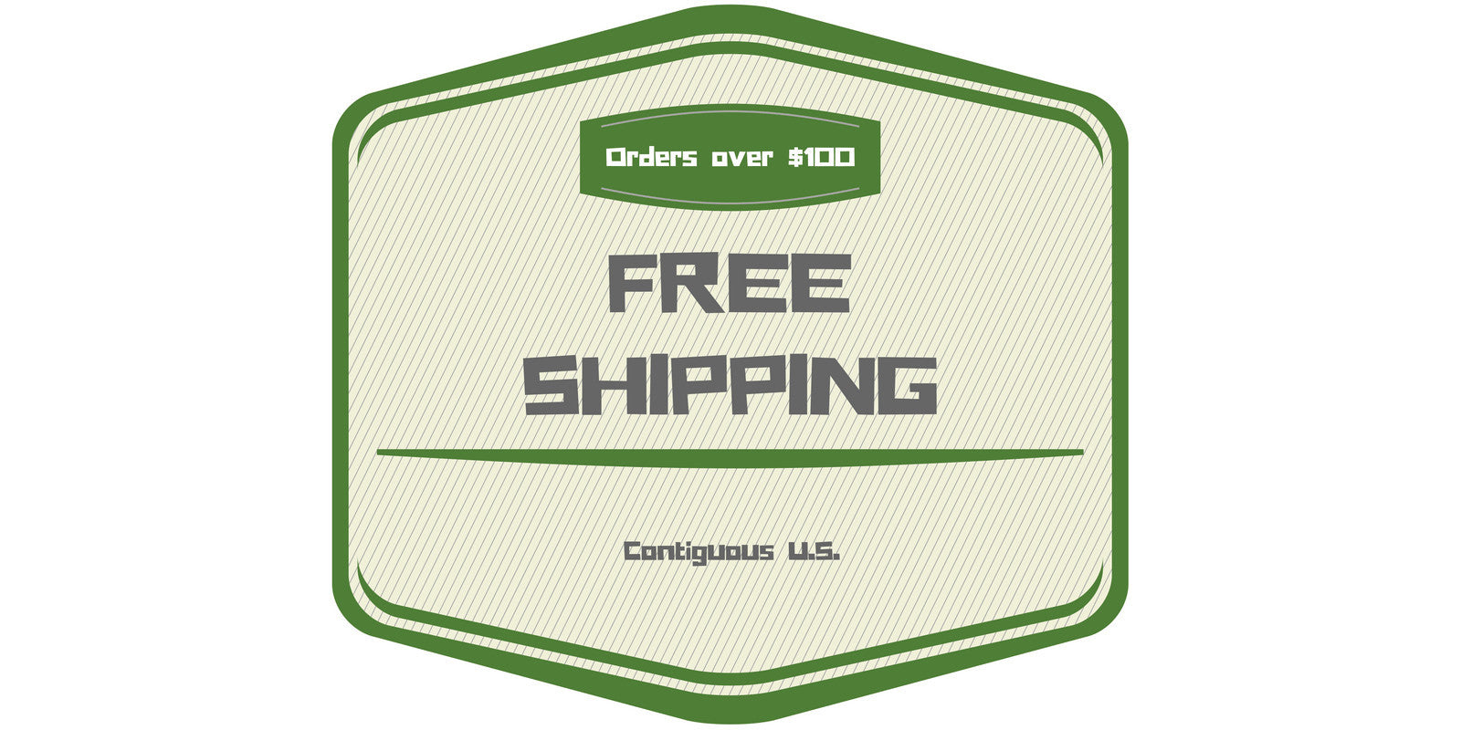 Free Shipping for growing supplies on U.S. orders $100 or more