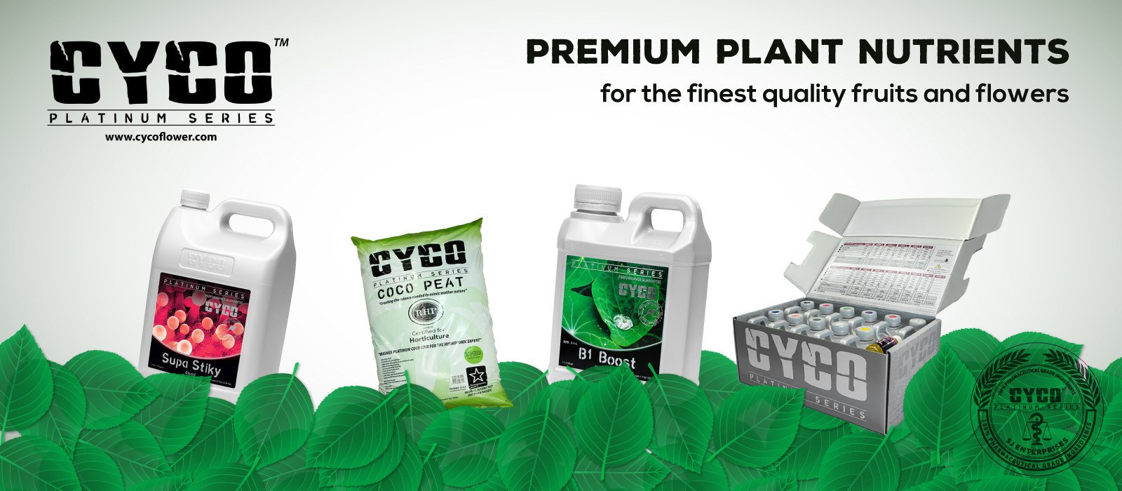 CYCO Premium Plant Fertilizer for soil or hydroponics