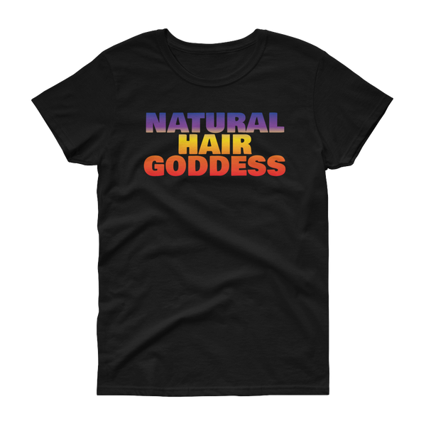 Natural Hair Goddess - short sleeve t-shirt