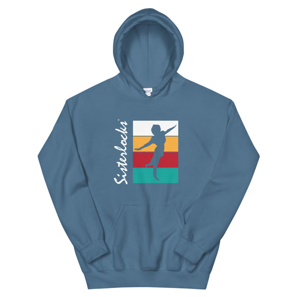 "Sisterlocks ""Flying Lady"" Hoodie - Sky Blue"
