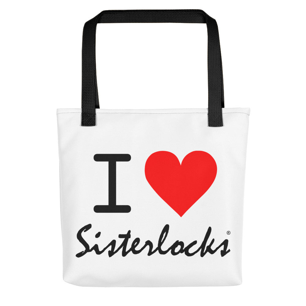 """I Love Sisterlocks"" - Tote bag"