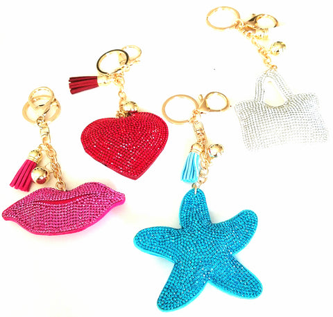 plush purse charms