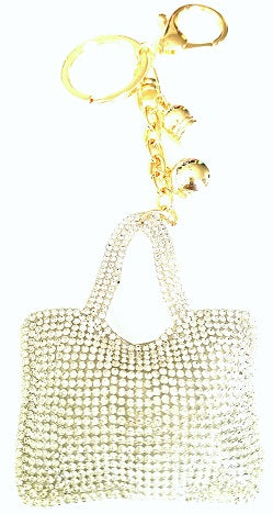 sparkle shoulder bag charm
