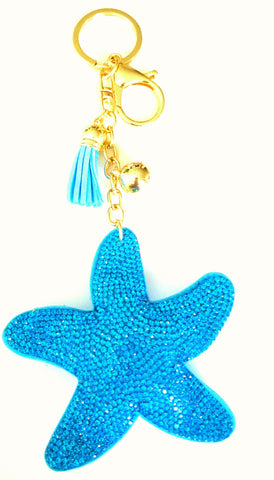 Star Fish Purse Charm
