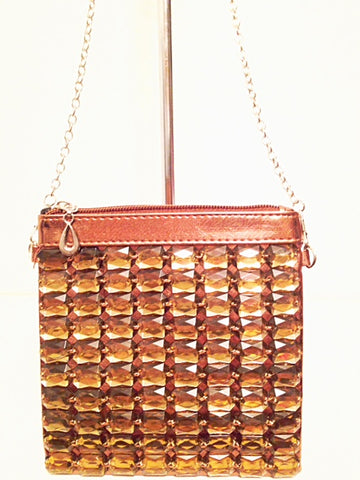 jeweled cross body bag
