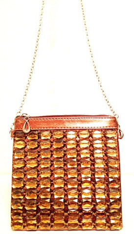 Cross Body Bag Bronze
