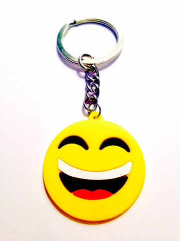 lol emoji key ring