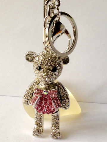 shiny teddy bear purse jewelry
