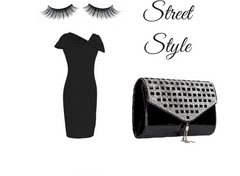 bling clutch look book