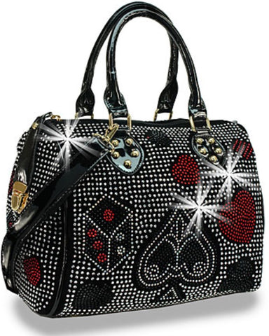 lady luck roll bag black