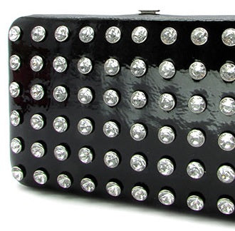 clutch wallet black