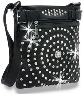 bullseye cross body bag