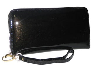 sparkling black wallet