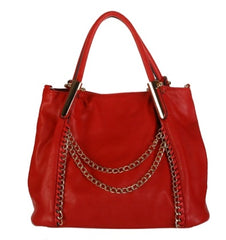 Crimson Red Satchel
