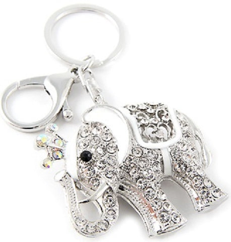 lucky elephant key ring