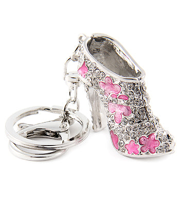 pastel pink shoe bootie charm