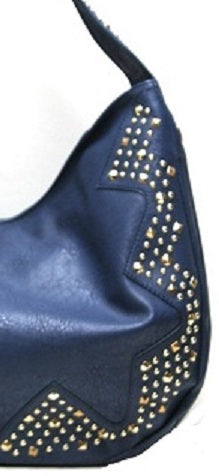 studded hobo close up
