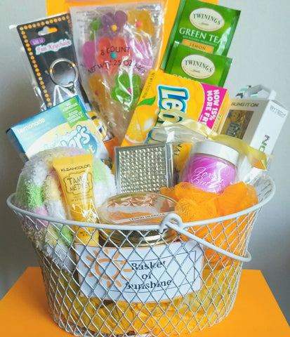 basket of sushine unwrapped