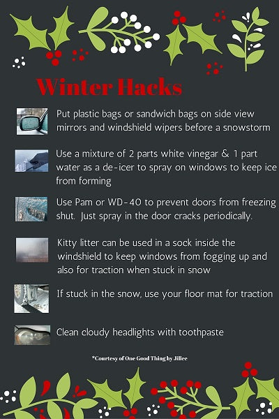 winter survival tips