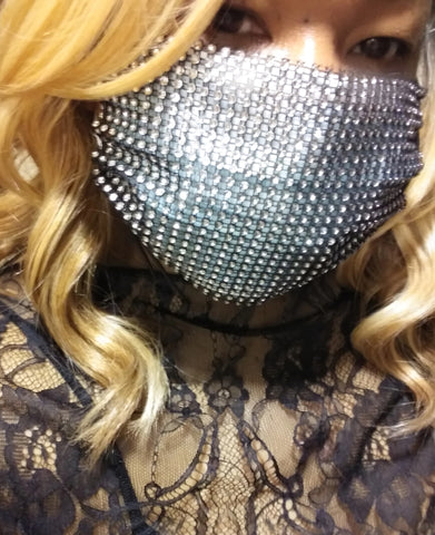 Mesh Face Mask Cover-Up 5 Colors