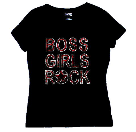 boss girls rock tee