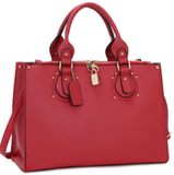 box tote in red