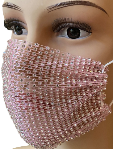 Mesh Face Mask Covers in 5 Colors!